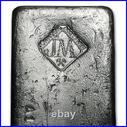 100 oz Silver Bar Johnson Matthey (Canada, Serial #) SKU #61800