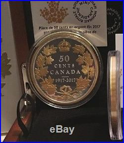 100th Anniversary 1917-2017 Half Dollar Masters Club 2OZ Pure Silver 50Cent Coin