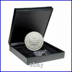 10 ounce 1998 CANADA $50 SILVER MAPLE LEAF 10th ANNIV. SILVER COIN SILVER Cert