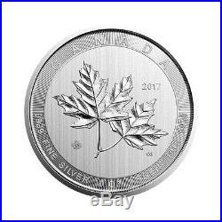 10 oz Silver Magnificent Maple Leaf Coin RCM 2018 Royal Canadian Mint