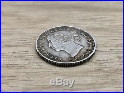 1858 20 Cents Canada Silver Coin