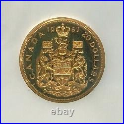 1867-1967 Canada Centennial Gold & Silver Seven Coin Specimen 2 Complete Sets