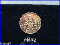 1867-1967 Canada Centennial Gold & Silver Seven Coin Specimen Set E4830