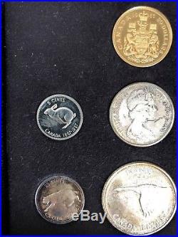 1867-1967 Canada Centennial silver and $20 gold coin set