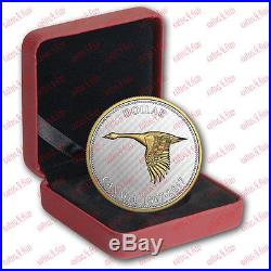 1867-2017 Big Coin Alex Colville Designs Goose 5 OZ $1 Pure Silver Dollar Canada