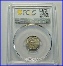 1890 Canada Newfoundland Silver 10 Cents Coin PCGS XF-45 RARE