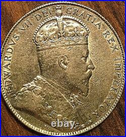 1903H CANADA SILVER 50 CENTS COIN Excellent example
