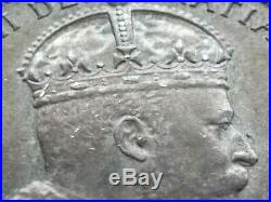 1907 Canada Silver Half Doller 50 Cent King Edward VII Coin AU+ Beauty