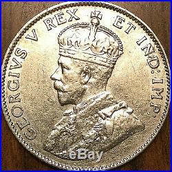 1911 CANADA SILVER 25 CENTS QUARTER COIN Fantastic example