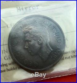 1937 Canada Silver Half Dollar 50 Cent Coin ICCS Mirror Specimen SP-64