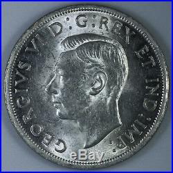 1938 Canada $1 Silver Dollar Nice Coin