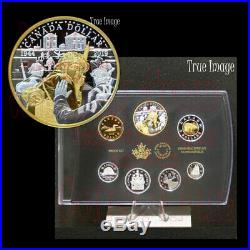 1944-2019 75th Anniversary of D-Day Juno Beach Pure Silver Proof 7-coin Set
