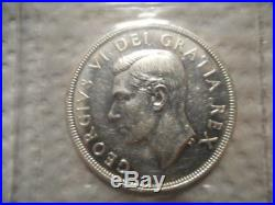 1948 Canadian Silver One Dollar Coin