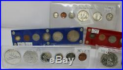1954sf-1962 Lot Of 6 Canada Proof-like Silver Coin Sets, A026, Trends $1745