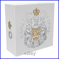 1959-2019 Masters Club Half-Dollar 60th Anniversary 50-cent Pure Silver Coin