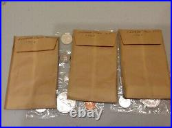 1962 &1963 Canadian Lot of 7 Proof-Like Silver Dollar Coin Set with Org. Envelope