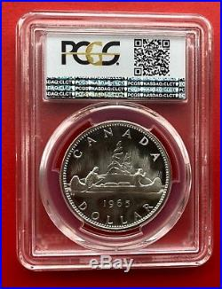 1965 Type 4 Canada 1 Dollar Silver Coin One Dollar PCGS Proof-Like PL-67 DCAM