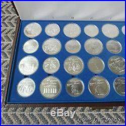 1976 Canada Montreal Olympics 28 Coin BU Set 30+ oz Pure Silver #coinsofcanada