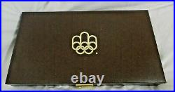 1976 Montreal Olympic 28 Bu Silver Coin Set $5 & $10 30 Troy Oz In Total