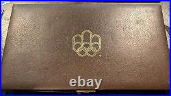 1976 Silver Canadian Montreal Olympic Games 28 Coin Set in original box