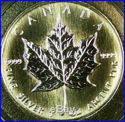 1997 Canada 1oz Silver Maple Leaf Proof-Like $5 Dollars Coin