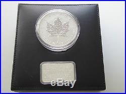 1998 Canada 10th Anniversary of the Silver Maple Leaf Coin 10 oz fine silver $50
