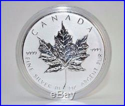 1998 Royal Canadian Mint $50 Silver 10 oz 10th Anniversary Coin A2