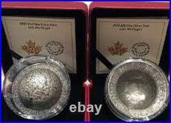 1.5 oz. Pure Silver Coin Lest We Forget Mintage 6,500 (2018)