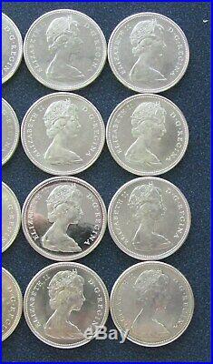 (1) Roll 1967 Canadian Centennial Goose Silver Dollar Coin (20 coins) Item# 700