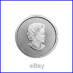 1 oz 2019 Silver Maple Leaf Coin RCM. 9999 Ag Royal Canadian Mint