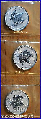 2004 Zodiac Series 12 One Oz Pure Silver Coins Signs Of The Zodiac RCM