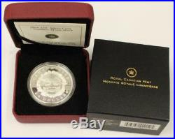 2009 Canada $20 Summer Moon Mask Coin Proof. 9999 Fine Silver with Box & COA