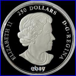 2010 SILVER CANADA PROOF KILO BANFF NATIONAL PARK ANNIV 32.15 oz 999 FINE COIN