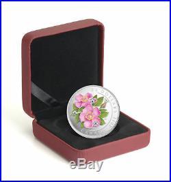 2011 CANADA Wild Rose $20 Silver SWAROVSKI CRYSTAL Coin