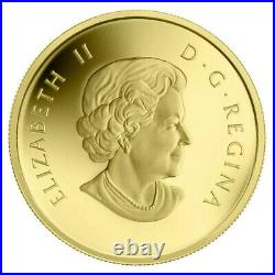 2011 Canadian 50-Cent Orca Whale 1/25 oz Pure Gold Coin