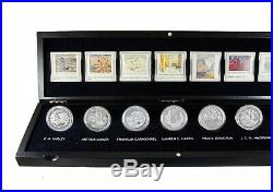 2012-2013 $20 Group of Seven 7-Coin Fine Silver Set in Case Royal Canadian Mint