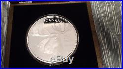 2012 Canada $250 1kg Silver Coin Robert Bateman Moose (Bull Moose) Low Mintage