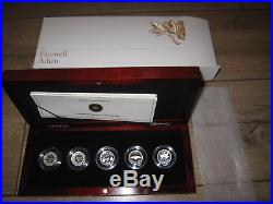 2012 Canada Farewell Penny Fine Silver 5 Coin Proof Set
