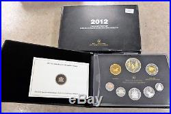2012 Silver Canada Proof Finish Rcm Sealed Coin Set, Lot#113