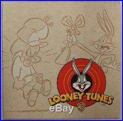 2013 $50.9999 Fine silver Looney Tunes Coin Elmer Fudd vs. Bugs Bunny