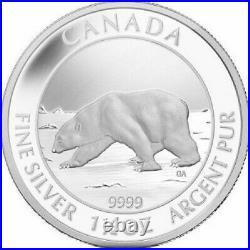 2013 Canada 2013 1.5 oz Silver Polar Bear Coin PCGS PR70DCAM $8 Silver Coin
