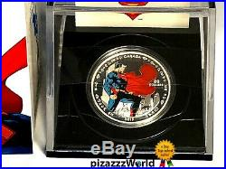 2013 Canada 99.99% Pure Silver $20 COIN Man Of Steel 75th Anniv. Superman MINT
