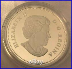 2013 Canada The Bald Eagle 4 Proof Coin Set 1 oz. Each Fine SILVER $20 Coins