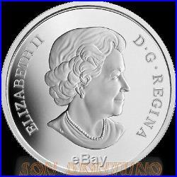 2013 Canada VENETIAN GLASS BUTTERFLY Purple Coneflower $20 Silver Coin MURANO