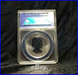2013 Maple Leaf MS70 First Release 25th Anniversary 1 oz Silver Coin Canada