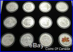 2013 O Canada Set 1 $10 12 Coin Silver Proof Full Set #coinsofcanada