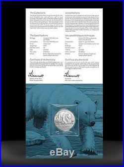 2014 Canada $50 Polar Bear. 9999 Fine $50 for $50 Silver coin dollar Proof