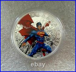 2014 Canada 9999 silver $20 dollars coin Iconic Superman book covers color