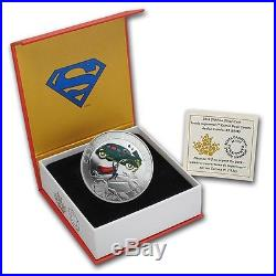 2014 Silver $10 Iconic Superman Comic Book Covers Action Comics #1 (1938) Coin