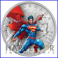 2014 Superman Iconic Comic Book Cover 1 Oz. Silver Coin $20 Superman Annual